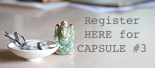 CAPSULE #3 REGISTRATION